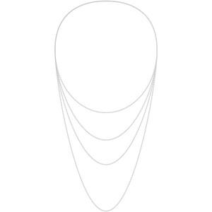 チェーンの長さはネックレス用の40cm/45cm/50cm/60cmを定番としてご用意しております。またブレスレット用として18cm、オーダーにて80cmのロングチェーンの製作も可能です。