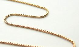 ベネチアンチェーンに18金ピンクゴールドの素材が追加されました。